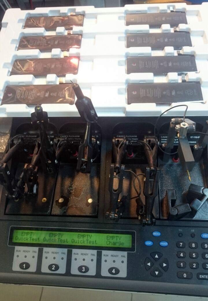 оборудование Cadex для тестирования АКБ