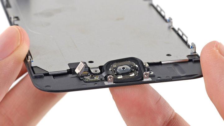 Замена кнопок iphone