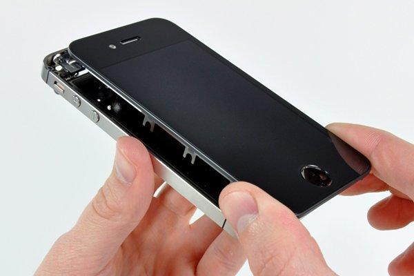 Замена тачскрин iphone